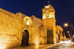 Monasterio de Santa Catalina σε Arequipa Στοκ φωτογραφία με δικαίωμα ελεύθερης χρήσης