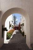 Monasterio de Santa Catalina in Arequipa Royalty Free Stock Images