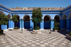 Monasterio de Santa Catalina Royalty Free Stock Image