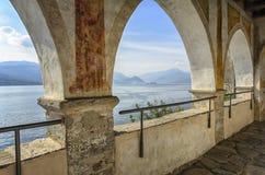 Monasterio de Santa Caterina en Varese, Italia Imagenes de archivo