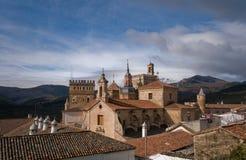 Monasterio de Santa María de Guadalupe. Caceres Fotos de archivo