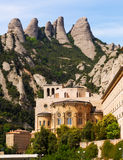 Monasterio de Santa María de Montserrat Fotografía de archivo libre de regalías