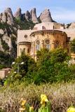 Monasterio de Santa María de Montserrat Fotos de archivo libres de regalías