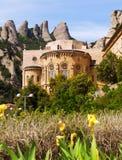 Monasterio de Santa María de Montserrat Imagenes de archivo