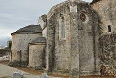 Monasterio de Santa María de vilabertran Foto de archivo