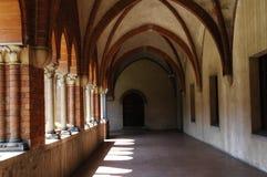 Monasterio de Santa Maria di Chiaravalle, Milán, Italia Fotografía de archivo libre de regalías