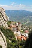 Monasterio de Santa Maria de Montserrat, España Imagen de archivo libre de regalías
