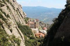 Monasterio de Santa Maria de Montserrat, España Foto de archivo