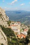 Monasterio de Santa Maria de Montserrat, España Fotografía de archivo