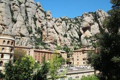 Monasterio de Santa Maria de Montserrat, España Fotos de archivo libres de regalías