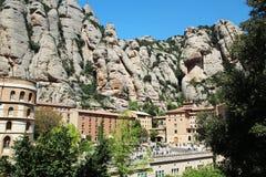 Monasterio de Santa Maria de Montserrat, España Fotografía de archivo libre de regalías