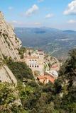 Monasterio de Santa Maria de Montserrat, España Imagenes de archivo