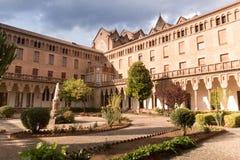 Monasterio de Santa Maria de Valldonzella, claustro Imágenes de archivo libres de regalías