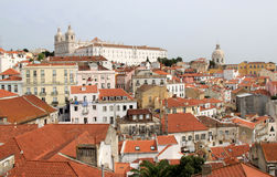 Monasterio de Sao Vicente de Fora, Lisboa Fotos de archivo libres de regalías