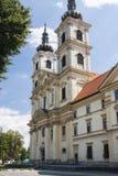 Monasterio de Sastin Foto de archivo libre de regalías