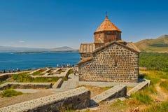Monasterio de Sevanavank en el lago Sevan en Armenia Fotografía de archivo libre de regalías