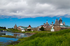 Monasterio de Solovetsky Fotografía de archivo