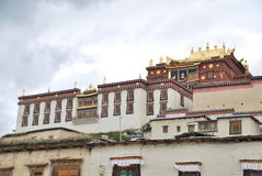 Monasterio de Songzanlin   Imagen de archivo libre de regalías