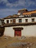 Monasterio de Songzanlin Foto de archivo libre de regalías
