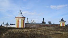 Monasterio de Spaso-Prilutskii almacen de video