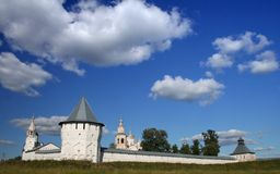 Monasterio de Spaso-Prilutskii Imagen de archivo