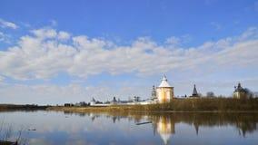 Monasterio de Spaso-Prilutskii Dimitriev almacen de video