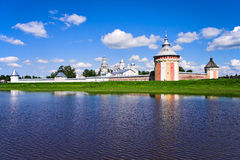 Monasterio de Spaso-Prilutsky Imagen de archivo