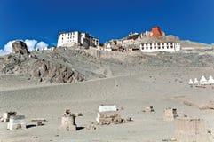 Monasterio de Spituk, Leh-Ladakh, la India imagen de archivo