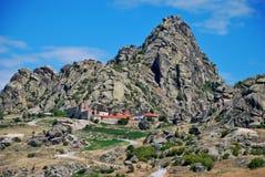 Monasterio de St Bogorodica Treskavec, Prilep, Macedonia foto de archivo