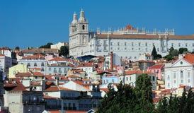 Monasterio de St Vincent Outside las paredes, Lisboa, Portugal Imagenes de archivo