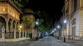 Monasterio de Stavropoleos Fotografía de archivo libre de regalías