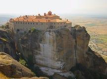 Monasterio de Stefanos de los agios imagen de archivo libre de regalías