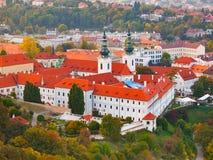 Monasterio de Strahov en Praga Fotos de archivo