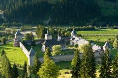 Monasterio de Sucevita imagen de archivo libre de regalías