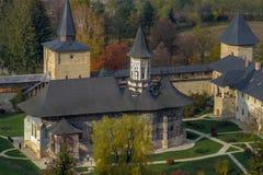 Monasterio de Sucevita Fotos de archivo