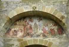 Monasterio de Sucevita Foto de archivo libre de regalías