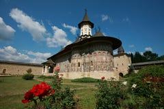 Monasterio de Sucevita Imagenes de archivo