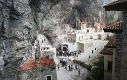 Monasterio de Sumela, adentro Fotos de archivo