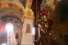 Monasterio de Svyatogorsk en Ucrania Fotografía de archivo libre de regalías