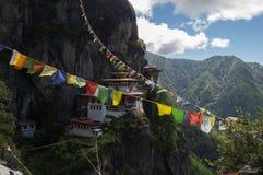 Monasterio de Taktsang Foto de archivo