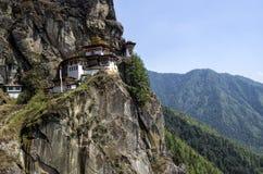 Monasterio de Taktshang, Bhután Fotografía de archivo libre de regalías