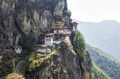 Monasterio de Taktshang, Bhután Imagen de archivo libre de regalías
