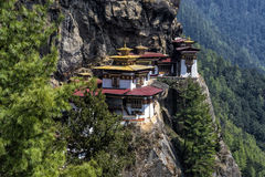 Monasterio de Taktshang, Bhután Imagenes de archivo