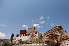 Monasterio 05 de Thikse foto de archivo libre de regalías