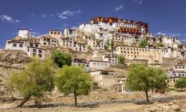 Monasterio de Thikse Fotografía de archivo libre de regalías