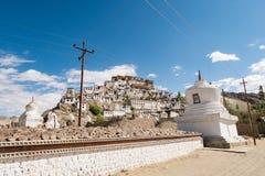 Monasterio de Thiksey, Leh Ladakh Imágenes de archivo libres de regalías