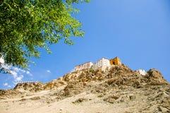 Monasterio de Thiksey, Leh, Ladakh, la India Fotografía de archivo