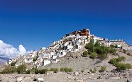 Monasterio de Thiksey, Leh-Ladakh, la India foto de archivo