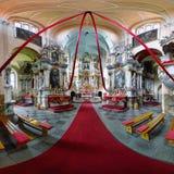 Monasterio de Tytuvenai Imagen de archivo libre de regalías
