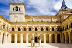 Monasterio de Ucles Imágenes de archivo libres de regalías
